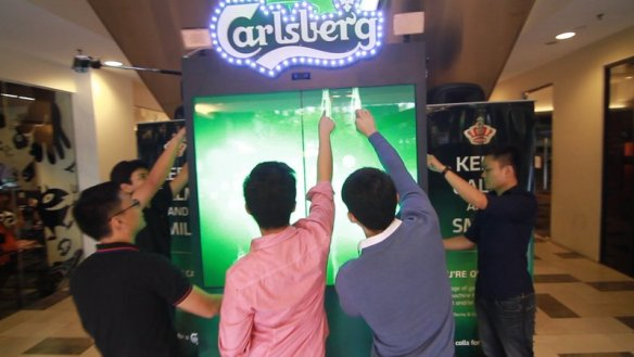 Carlsberg Vending Machine