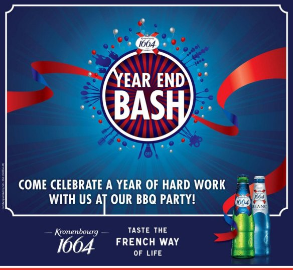 KRONENBOURG  1664 Year End Bash