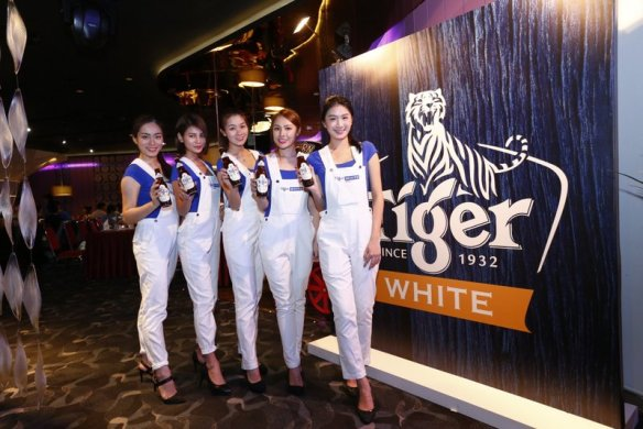 Tiger White brand ambassadors at the sensational cinematic experience event at TGV Indulge, One Utama