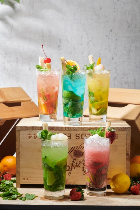 Flavoured Mojitos