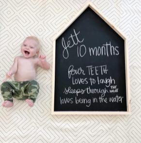 Jett at 10 months