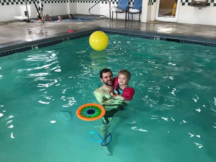Swimming indoor