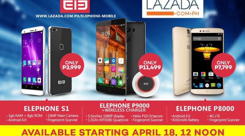 Smartphone brand Elephone arrives in the Philippines | Good Guy Gadgets