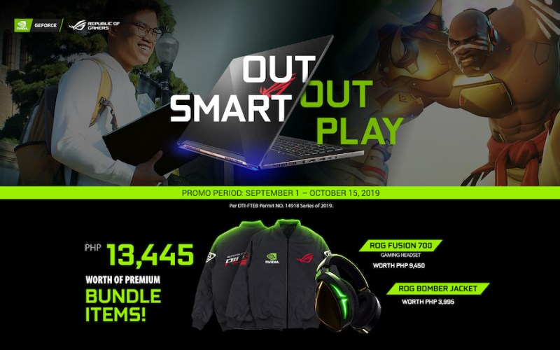 Look Fly and Live the Wireless Gaming Lifestyle with the ROG x NVIDIA OutSmart, Out Play Promo! | Good Guy Gadgets