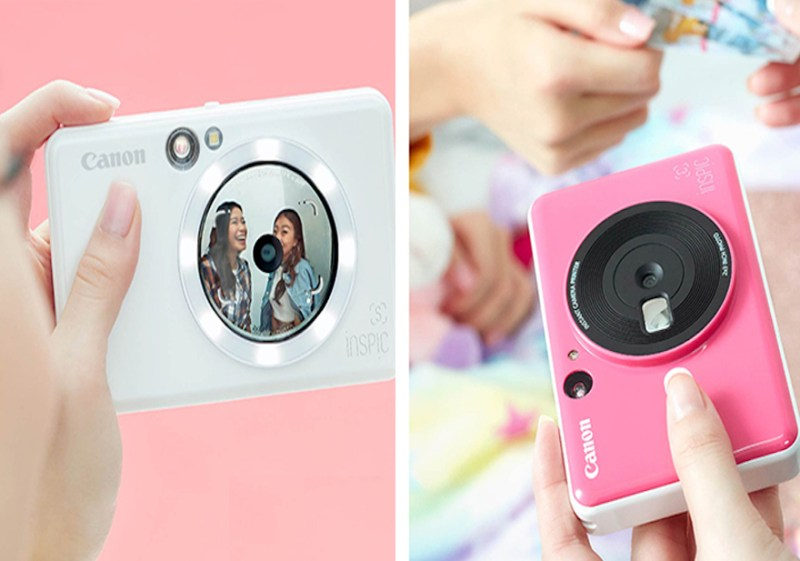 Snap Easy, Print Instantly with the colorful Canon iNSPiC cameras | Good Guy Gadgets