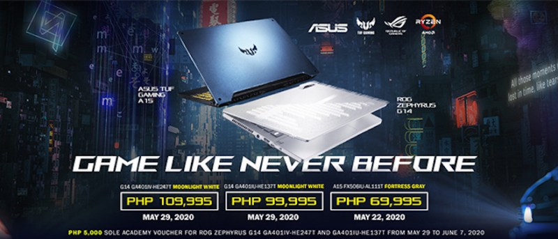 ASUS conquers the world with new VivoBook and ROG gaming notebooks powered by AMD Ryzen 4000 processor | Good Guy Gadgets