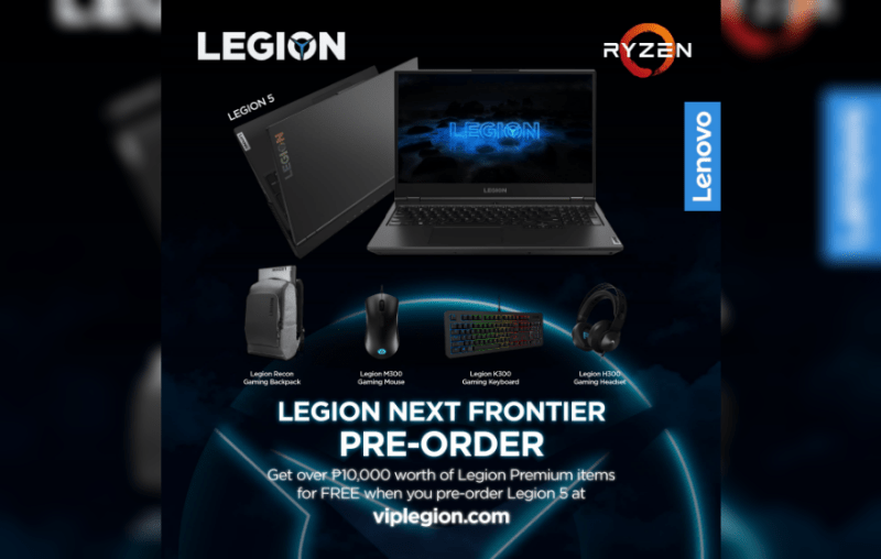Lenovo announces pre-order exclusive promo for new Legion devices | Good Guy Gadgets