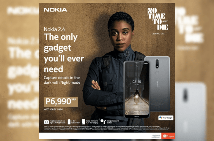 Fans of Nokia phones can reserve their own Nokia 2.4 in a Charcoal color variant on its official store at Shopee. | Good Guy Gadgets