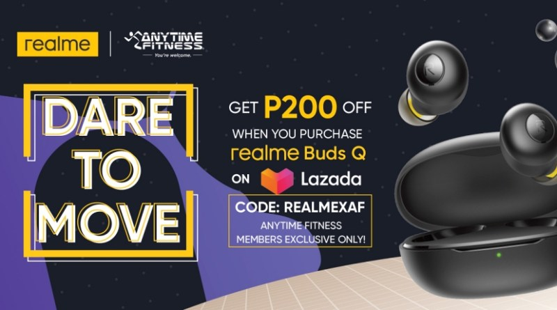 Dare to move it, move it! realme Philippines and Anytime Fitness want you to stay safe and fit | Good Guy Gadgets