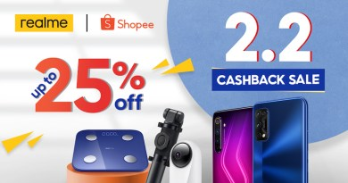 realme Philippines joins Shopee's 2.2 cashback sale with exciting deals and promos | Good Guy Gadgets