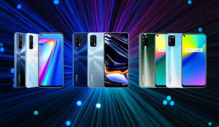 The realme 7 Series: Technical Specification Compared | Good Guy Gadgets