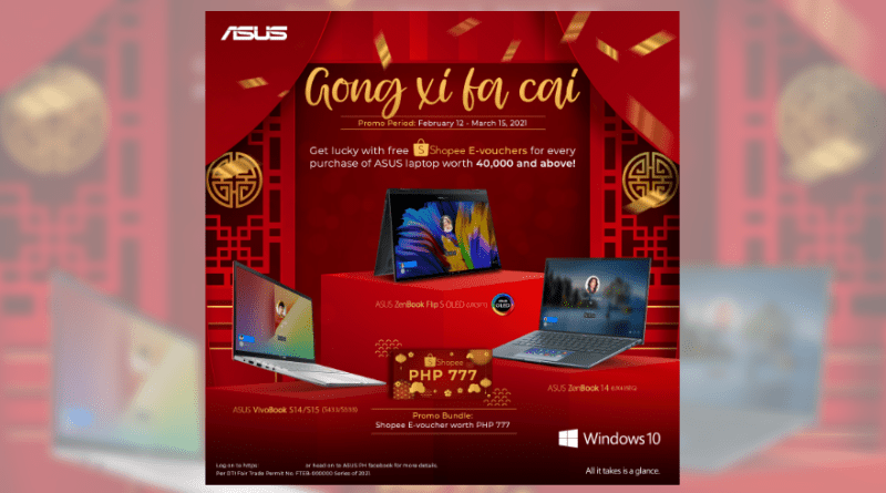 Get Lucky this Year of the Ox with ASUS Philippines' Shopee E-Voucher Giveaway! | Good Guy Gadgets