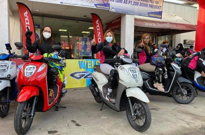 Lady riders making a difference for a sexier look with Honda Genio | Good Guy Gadgets