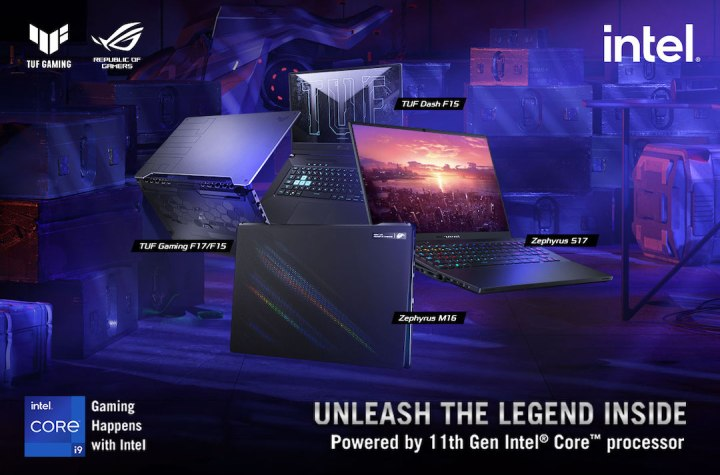 Republic Of Gamers Philippines officially announces the new Zephyrus and TUF Gaming lines powered by latest Intel® 11th generation CPUs | Good Guy Gadgets