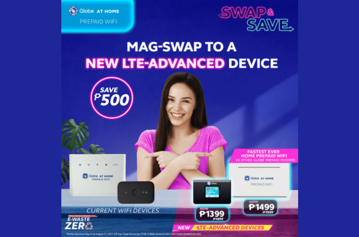 Get discounts on new modems and WiFi kits with Globe's 'Swap and Save' | Good Guy Gadgets