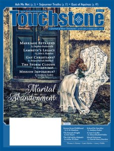 Professor Esolen writes for Touchstone Magazine - subscribe now!