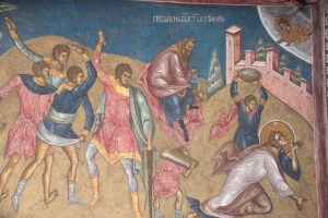 St. Stephen experienced a culture of division; pray for us, O Protomartyr Stephen!