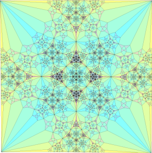 A Fractal Image (the local image is part of a larger one that is the same)