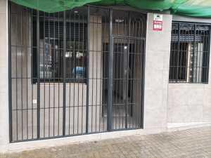 Instalación Rejas entrada piso Mataro