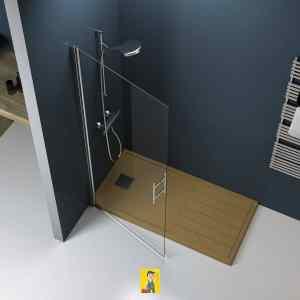 mampara de ducha modelo Milán 1
