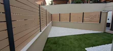 Instalación de Valla de PVC en Castellet i la Gornal
