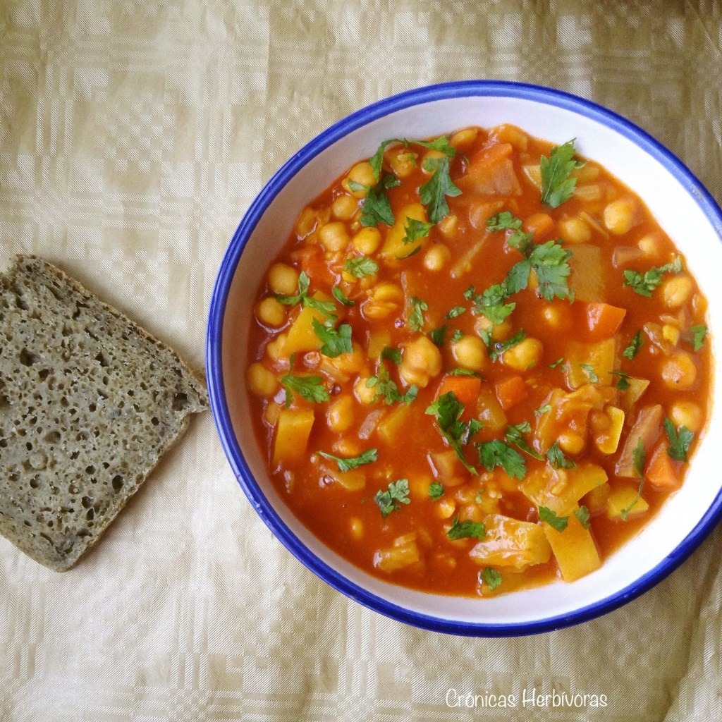 ¿Cómo hacer un Estofado Vegetariano Marroquí?