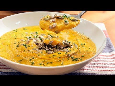 nuez de macadamia y crema de zanahoria - Carrot Cream Recipe with Macadamia Nuts - Diabetics Recipe