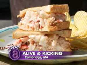 Alive y Kicking Lobster Roll 300x225 - Where are the best Lobster Rolls in Boston?