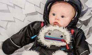 Deux Par Deux Baby Boy Snowsuit