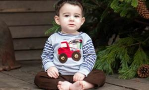 Haute Baby Boy Outfit