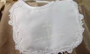 Little Things Mean Alot Christening Bib
