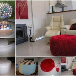 Circular Sofa Chair Best Eames Molded Replica Diy Simple Ottoman From Recycled Plastic Bottles | Good Home