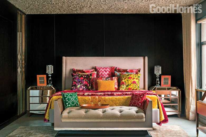 bedroom decorating ideas in living room feng shui color 10 stylish goodhomes india colourful bedsheet pillow designs