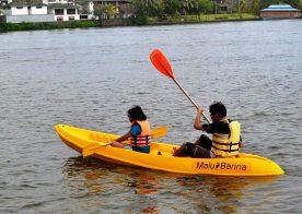 canoeing-water-sports-Malu Banna Watersports Activities Bentota Sri Lanka