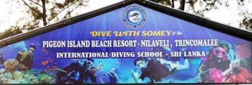 International Dive School Hikkaduwa Trincomalee Sri Lanka Soomey and Sachin