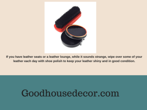 shoe polish for leather lounge