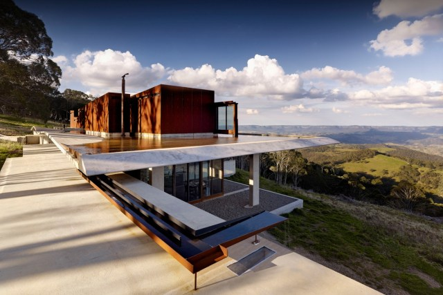 Invisible House in New South Wales Australia