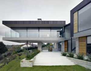 The Owers House in Cornwall Britain