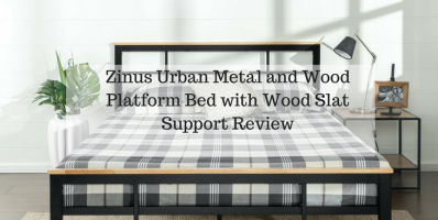 Zinus Urban Metal and Wood Platform Bed with Wood Slat Support Review