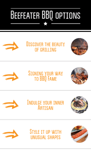 Beefeater BBQ options