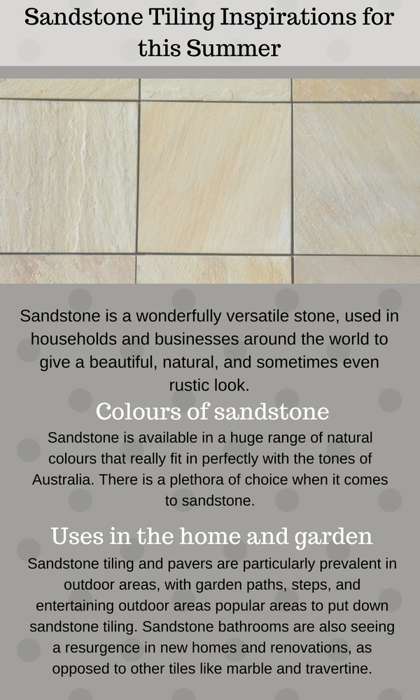 Sandstone Marble Tiling Inspirations for this Summer