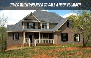 Roof plumbling