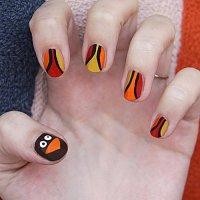 Thanksgiving Nail Art - Good Ideas and Tips