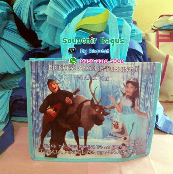 Tas Ulang tahun Frozen Jakarta Buatan Kudus