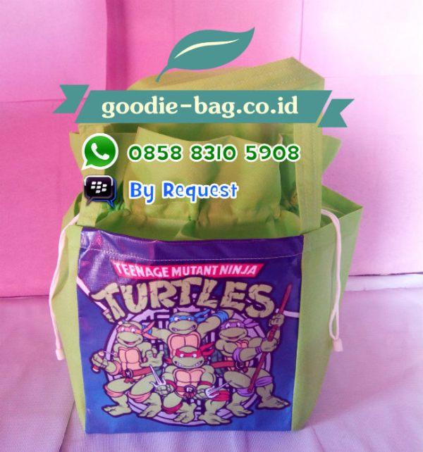 Goodie Bag TMNT Kura Ninja Brunei Darusalam
