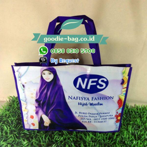 tas promosi toko baju jilbab papua jakarta jayapura