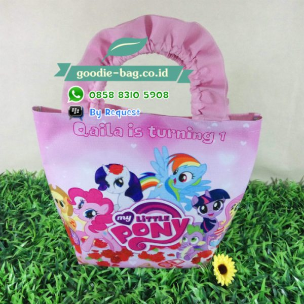 Tas Souvenir Ulang Tahun My Little Pony