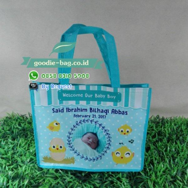 tas souvenir bayi satu bulanan