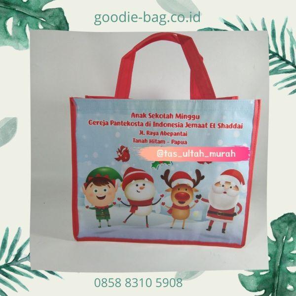 Tas Natal 2020 Goodie bag Christmas Edisi Corona Jakarta murah