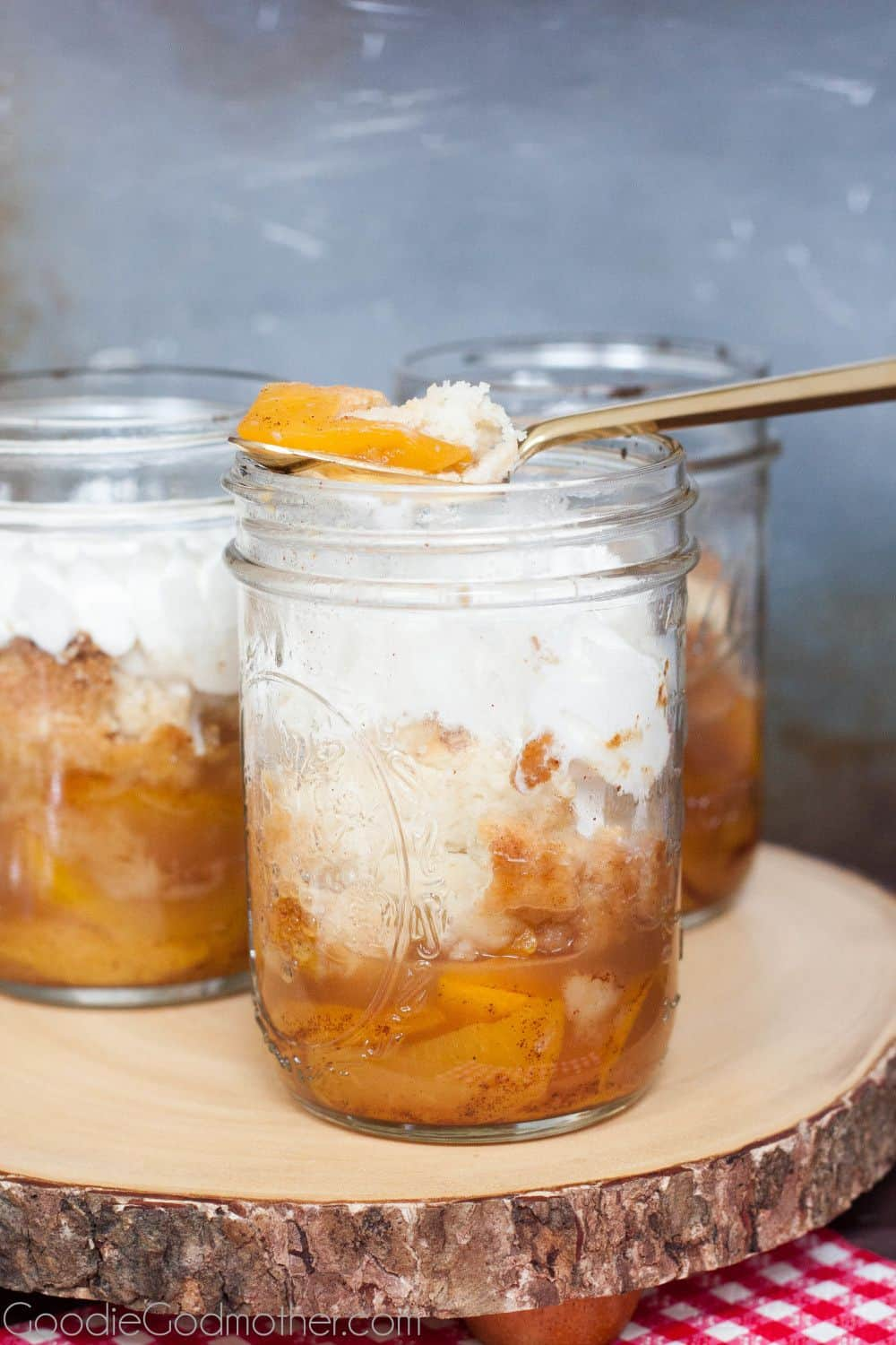 Fresh Peach Cobbler  Goodie Godmother  A Recipe and